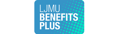 LJMU Benefits Plus Logo