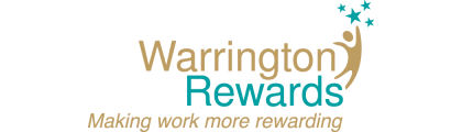Warrington Rewards Logo